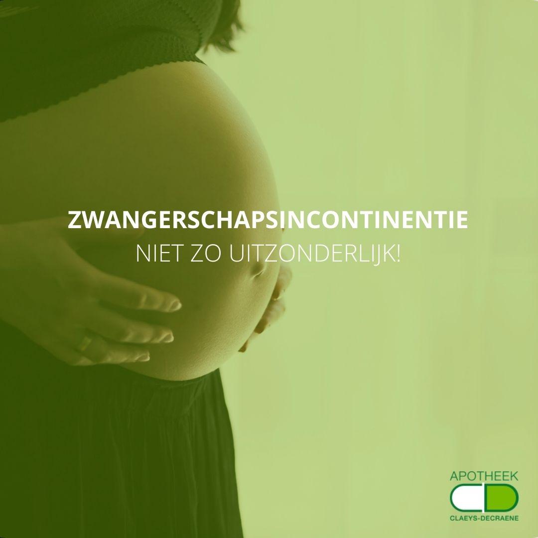 zwangerschapsincontinentie